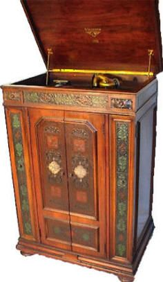 1930 Victrola Old Radios Louis Xvi Style Phonograph