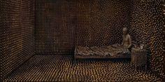 Origin of the Beginning 3.2 // 2011 // 210 x 100cm & 100 x 50cm    Levi van Veluw