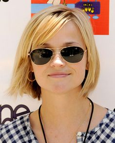 Reese Witherspoon cuts her hair into a bob   POPSUGAR Beauty