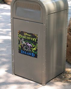 This Discovery Island can was actually spotted in the area around River Country back in 2005. This was 4 years after the water park was closed and 6 years after the loss of Discovery Island.