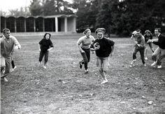 Touch Football at Vassar Oct. 1962 via tomboy style blog