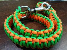 Paracord dog leash instructions - for whenever I have a dog again.