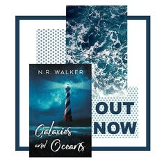 Galaxies and Oceans Release Day!! A gentle story about learning to live after loss and finding peace.  Link in my bio! #galaxiesandoceans #books #gayromance #loveislove