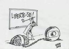 Há muitíssimo tempo, passou da hora de o Brasil se libertar da Rede Globo de TV. Questão de salvação nacional e de libertação popular.
