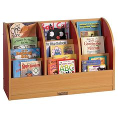 Single Sided Toddler Book Stand - ECR4Kids. Image 2 of 2.