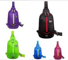 Casual Outdoor Sports Unisex Chest Bag CrossBody Backpack Shoulder Bag Sling Bag #Unbranded