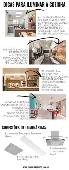 Casa Sem Rótulos, dicas de iluminação, como iluminar sua casa, iluminação geral, como iluminar sua cozinha, dicas para cozinha, iluminação cozinha