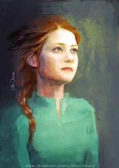 Ginny Weasley by Little Chmura