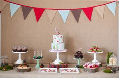 Sooti and Sweet: Ollie's First Birthday - Woodland Theme