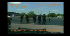 Saginaw, MI -- The gruesome dashcam video of a summary execution of a mentally ill man by police has been released to the public this week. The video shows six police officers, in firing squad fashion, execute mentally ill, Milton Hall, in broad daylight in a Saginaw parking lot. Hall was several meters away from…  (HORRIBLE - Lunatic, murderous cops - :'( )