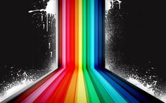 Dark Rainbow Vector  #Abstract #Abstraction #Dark #Rainbow #Vector #wallpaper #desktopwallpaper #hdwallpaper #abstract #abstractwallpaper