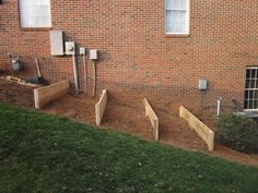 Terraced vegetable garden beds raised img 5250 jpg diy design fanatic bed how to build a on slope ideas Sloped Backyard Landscaping, Sloped Yard, Landscaping Ideas, Steep Hillside Landscaping, Landscaping Retaining Walls, Backyard Ideas, Raised Garden Beds, Raised Beds, Raised Gardens