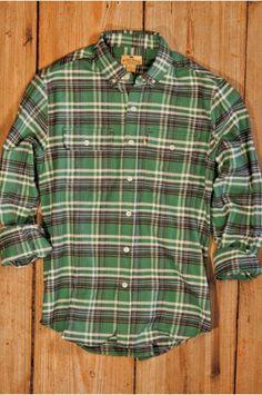 Tacoma Plaid - Buffalo Jackson Flannel Two Pocket Shirt