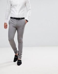 Browse online for the newest Only & Sons Skinny Suit Pants styles. Shop easier with ASOS' multiple payments and return options (Ts&Cs apply). Latest Fashion Clothes, Fashion Pants, Mens Fashion, Pants Outfit, Suit Pants, Trousers, Online Shop Kleidung, Skinny Fit Suits, Asos