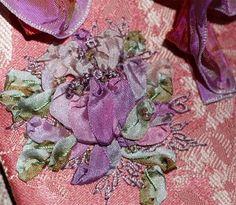 Roxanne's Ribbonry: Silk Ribbon Embroidery Workshop