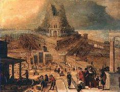 Hendrick van Cleve (1525–1589) - Tour de Babel