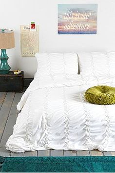 Noodle Boho Ruffle Duvet Cover - Urban Outfitters
