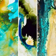 Eileen Lang Ink Prints nature of pigments