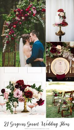 Beautiful colour for a timelessly elegant wedding!