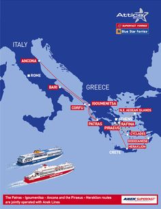 Cross over to Greece
