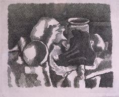 Giorgio Morandi, Still Life with Drapery