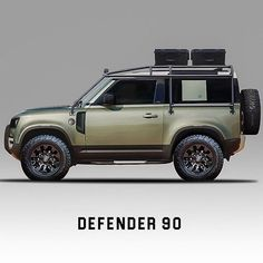 Okay this looks really nice. Looks more like a real Defender Art:@kod_concept Follow us --->... New Land Rover Defender, New Defender, Landrover Defender, Lander Rover, Jeep Pickup Truck, Camper, Cars Land, Suv Cars, Truck Accessories