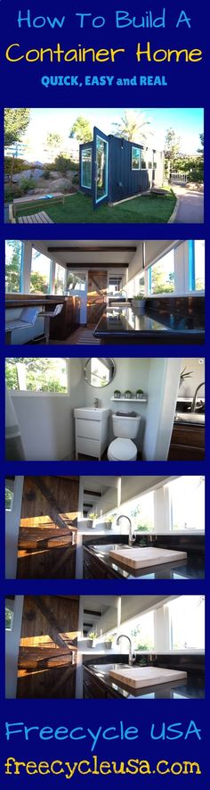 Container House - What to Consider Before Building a Shipping Container Home - www.freecycleusa.... - Who Else Wants Simple Step-By-Step Plans To Design And Build A Container Home From Scratch?