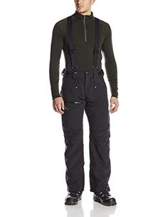 Salomon Men's Chill Out Bib Pant, Black, Large/Regular *** You can find more details by visiting the image link.