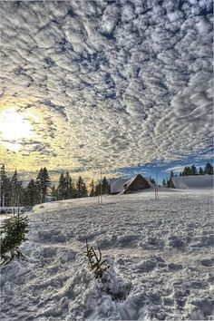 Crater Lake National Park - Southern Oregon  (Cielo y Nieve)