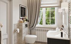Интерьер ванной, дизайн ванной комнаты, ванная интерьер, ванная комната в доме, проект ванной комнаты, идея ванной, рулонные шторы в интерьере, неоклассика в интерьере, современный стиль в интерьере, bathroom, designe bathroom, interior bathroom,architecture house Studio House, Alcove, Bathtub, Curtains, Shower, Bathroom, Standing Bath, Rain Shower Heads, Washroom