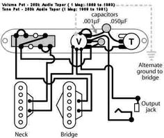 Guitar Wiring Diagrams 2 Pickups also B Dual Humbucker Wiring Diagram moreover Sunseeker Rv Wiring Diagram furthermore Strat W Single Master Tone Control likewise 210938 Tele Gas Can P90 Neck Pickup. on seymour duncan strat wiring