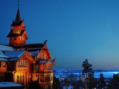 Get off the grid with these epic ski spots—like Holmenkollen Park Hotel Rica Hotel, Oslo