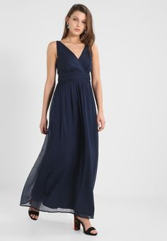 Vêtements Vero Moda VMJOSEPHINE - Robe longue - black iris bleu foncé: 39,95 € chez Zalando (au 06/04/18). Livraison et retours gratuits et service client gratuit au 0800 915 207.