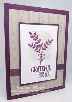 For All Things, Stampin Up, susanstamps.wordpress.com