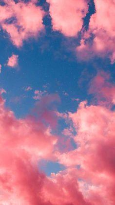 Pink sky livewallpaperswid Beautiful Wallpaper 736 X 1308 wallpape Pink Clouds Wallpaper, Night Sky Wallpaper, Pink Wallpaper Iphone, Iphone Background Wallpaper, Cute Backgrounds Iphone, Tumblr Backgrounds, Pink Iphone, Iphone Phone, Girl Wallpaper
