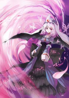 Touhou : Yuyuko Saigyouji by ClearEchoes on deviantART