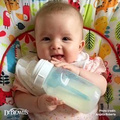 So Cute!! #DrBrowns #Baby #babybottle