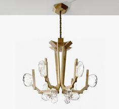 Lustre design par Lasvit – 2 modèles spectaculaires en verre soufflé