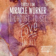#Maycausemiracles #affirmation