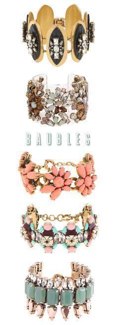 baubles + bracelets