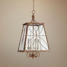 "Quorum Charme 15 1/4"" Wide French Umber Pendant Light - #2Y147 | LampsPlus.com"