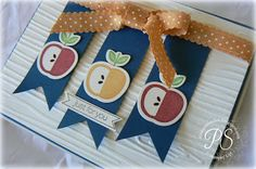 Stampsnsmiles: Apples and Autumn!