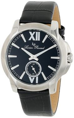 Lucien Piccard Women's LP-10025-01-BK Cordoba Analog Display Japanese Quartz Black Watch -- Want to know more, click on the image.