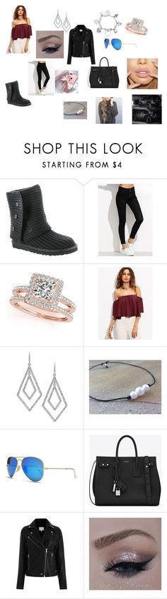 """Twilight"" by lddance2002 on Polyvore featuring UGG Australia, Allurez, WithChic, ABS by Allen Schwartz, Wrangler, Ray-Ban, Yves Saint Laurent and ChloBo"