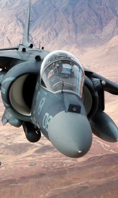 RAF Harrier Aircraft