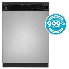 Kenmore 24'' Built-In Dishwasher - Stainless Steel ENERGY STAR®  Sears Item# 02213073000 | Model# 1307   Rating 4 | 7 Reviews | Create a Review  Reg Price: $509.99  Savings: $110.00  $399.99