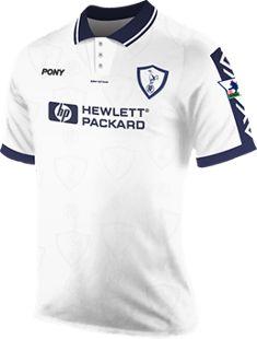 ab3759c70a7 Tottenham Hotspur Home Kit 1996 Classic Football Shirts, Spurs Fans,  Tottenham Hotspur Fc,