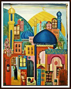 Iraqi artist, Rasha kherr eldeen من أعمال الفنانة العراقية رشا خير الدين
