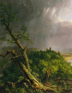 Thomas Cole: View from Mount Holyoke, Northampton, Massachusetts, after a Thunderstorm--The Oxbow (08.228) | Heilbrunn Timeline of Art History | The Metropolitan Museum of Art