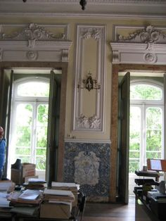Portugal, Cool Art, Fun Art, Interior Inspiration, Interior And Exterior, French Interiors, Villa, French Style, Windows